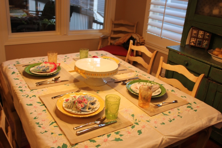 Casual Country French Table Setting